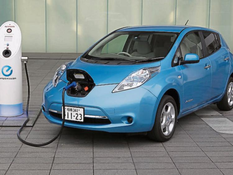 Electric Car Charger: Nissan Leaf