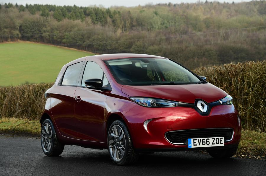 Electric car charger: Renault Zoe